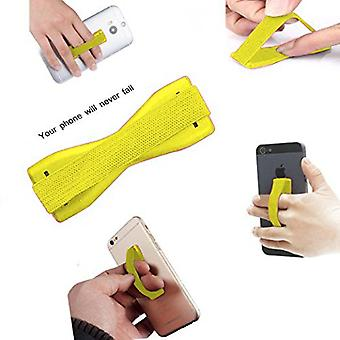 (Gul) Anti-Slip elastisk finger mobiltelefon greb holder til Xiaomi Black Shark