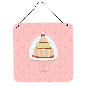 Decorative Cake 3 Tier Pink Wall or Door Hanging Prints