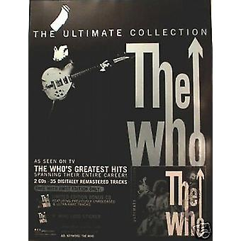 The Who Ultimate Collection Poster
