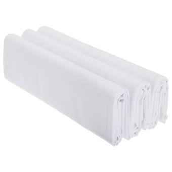 Pánske plain 100% bavlnené vreckovky (balenie 3)
