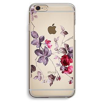 IPhone 6 6 s transparentes Gehäuse (Soft) - schöne Blumen