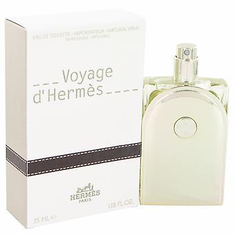 Hermès Voyage d'Hermès Eau de Toilette 35ml EDT genopfyldning Spray