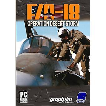 FA-18 Operation Desert Storm (PC)-nieuw