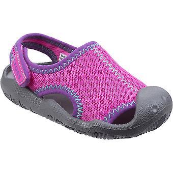 Crocs लड़कों और लड़कियों स्विफ्टवॉटर लाइटवेट आरामदायक ग्रीष्मकालीन पानी जूते