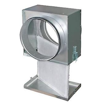 Filter box G4 with round pipe connection in various sizes