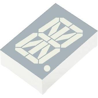 Kingbright alfanumerische segment weer rood 30.48 mm 3,7 V nr. cijfers: 1 PSA 12-11-SURKWA
