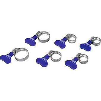 Conrad Components Hose clamps 1378469 + wing bolt 60 pc(s)