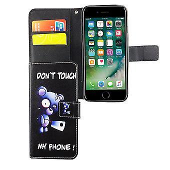 الحقيبة حالة الهاتف المحمول لهاتف أبل أي فون 6/6s تتحمل بفاس