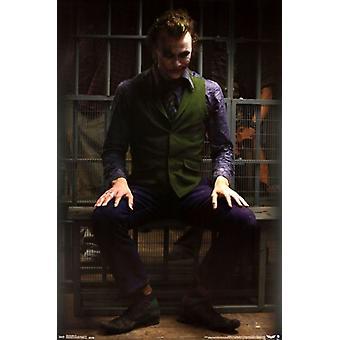 The Dark Knight - Joker-Gefängnis-Plakat-Druck