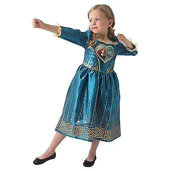 Merida Loveheart Mädchen Prinzessin Kleid Disney Kostüm