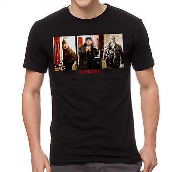 Accueil T-shirt noir seul feu & plumes Booby Trap hommes