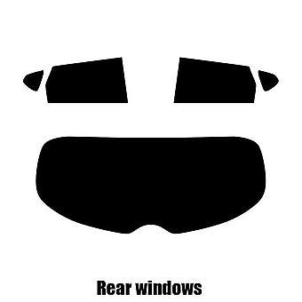 Pre cut window tint - Nissan Pulsar 5-door Hatchback - 2014 and newer - Rear windows