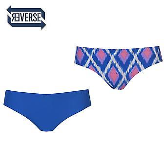 Modello senza cuciture Stretch Color Block-Slip Bikini reversibile SoulCal Womens