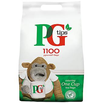 PG Tips Catering One Cup Pyramid Tea Bags.