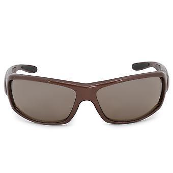 Harley Davidson Rectangle lunettes de soleil HDS8001 BRN 1F 63