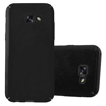 Cadorabo Case för Samsung Galaxy a3 2017 fodral Cover-hardcase plast telefon väska mot repor och stötar-skyddande fodral stötfångare Ultra Slim tillbaka fallet hårt omslag