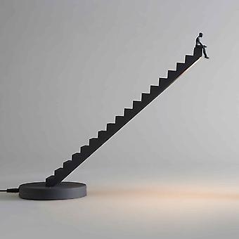Seletti Verso skulpturelle stigen Desk antrasitt