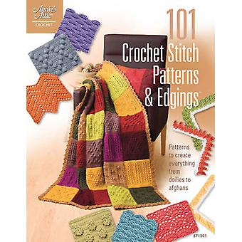 101 Crochet Stitch Patterns & Edgings - Patterns to Create Everything