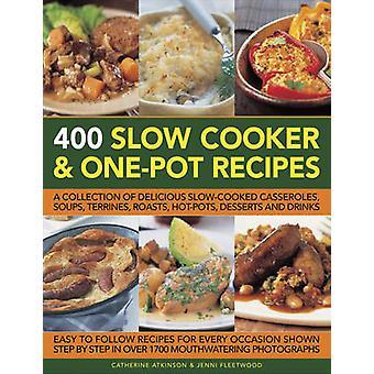 وصفات بطيئة طباخ & وعاء واحد 400 كاترين أتكينسون-أسطول جيني