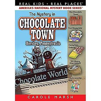 Geheimnis in Schokolade Stadt Hershey, Pennsylvania (echte Kinder realen Orten Reihe, Band 18)