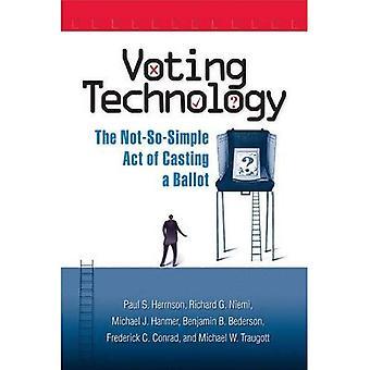 Röstande teknik: Den inte-så-enkel handlingen av gjutning en omröstning