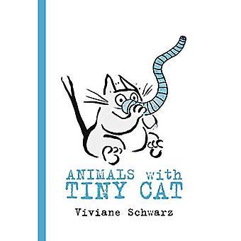 Dyr med liten katten [brettet boken]