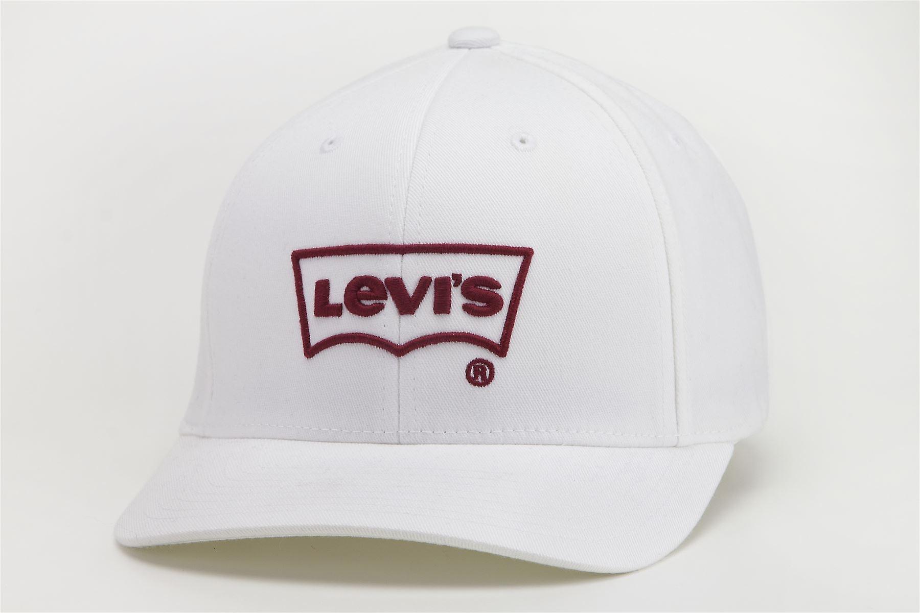 Tutti i cappelli Levi maschile ~ grande pipistrello bianco
