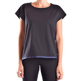 Fay Ezbc035001 Women's Black Cotton T-shirt