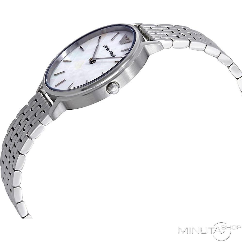 Emporio Armani Quartz argent dames Womens Wrist Watch AR11112