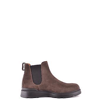 Woolrich Ezbc033043 Men's Brown Suede Ankle Boots