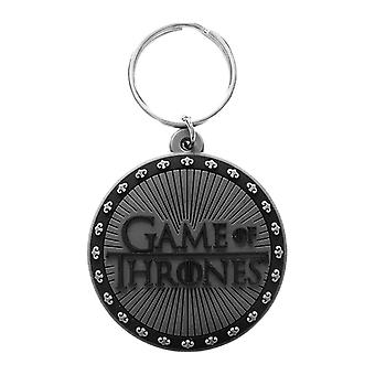 Game of Thrones Logo Rubber Keyring