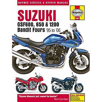 Suzuki GSF600 - 650 & 1200 Bandit Fours Motorcycle Repair Manual by A