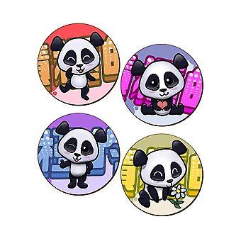 Handa Panda 4 stykke Coaster sæt