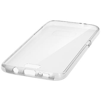 Samsung Galaxy S7 Edge Full Front Front Cover - Transparent - Mocca