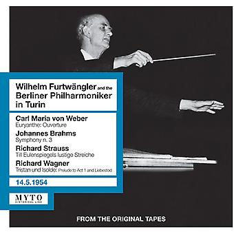 Wilhelm Furtwangler & Berlin - Wilhelm Furtwangler Et Le Berliner [CD] USA import