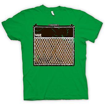 Mens T-shirt - Vox Guitar Amps AC30 - Blues Rock Music