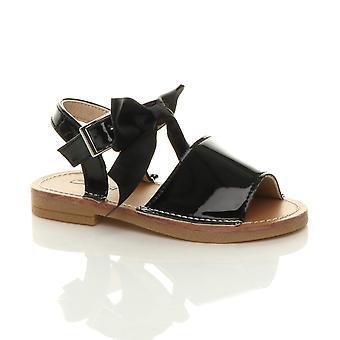 Ajvani Mädchen Säugling Schnalle Band Schleife Menorcan Sommer Sandale Schuhe