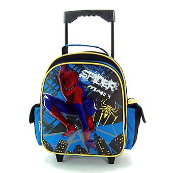 Small Rolling Backpack - Marvel - Spiderman - Spider New School Bag 608033