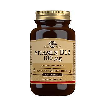 سولغار فيتامين B12 100ug أقراص 100 (3180)