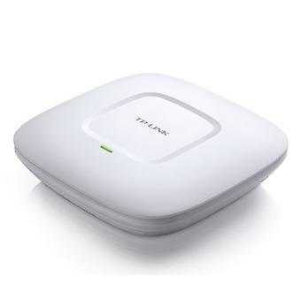 TP-LINK (EAP110 V4) 300Mbps Wireless N Ceiling Mount Access Point, Passive PoE, 10/100, Free Software