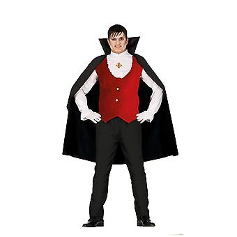 Mens Count Dracula Vampire Fancy Dress Costume