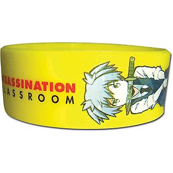 Wristband - Assassination Classroom - Nagisa Yellow New Licensed ge54274