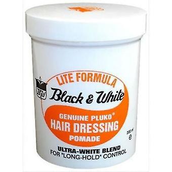 Negru & alb autentic Pluko Hair dressing 200ml