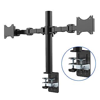 Fleximounts D1D koko Motion DUAL ARM Desk Monitor Mount jalusta sopii 10