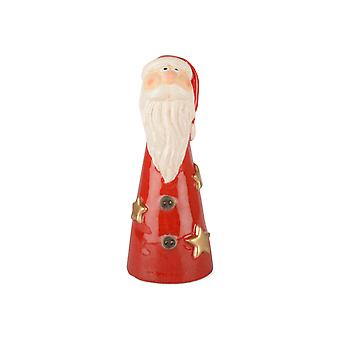 Santa Claus Red Ceramic 19 cm