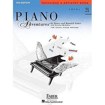 Faber Piano Adventures - Level 2A - Technique & Artistry Book by Victo