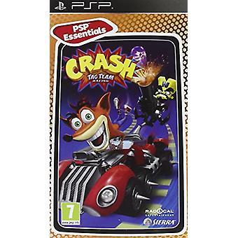 Crash Tag Team Racing (PSP)-fabriken förseglad