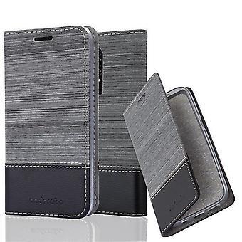 Cadorabo sag for OnePlus 6 sag stil - mobiltelefon sag med magnetisk lås, stå funktion og kortrum - Sag Cover Beskyttende sag bog Foldestil