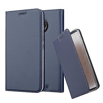 Cadorabo tapauksessa Motorola MOTO X4 tapauksessa tapauksessa kattaa - matkapuhelin tapauksessa magneettilukko, seistä toiminto ja korttiosasto - Case Cover suojakotelo tapauksessa kirja folding style
