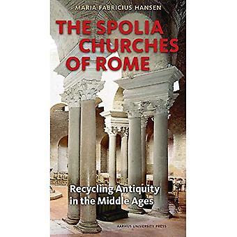 Spolia iglesias de Roma